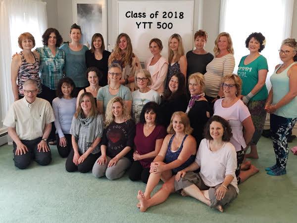 YTT Class of 2018